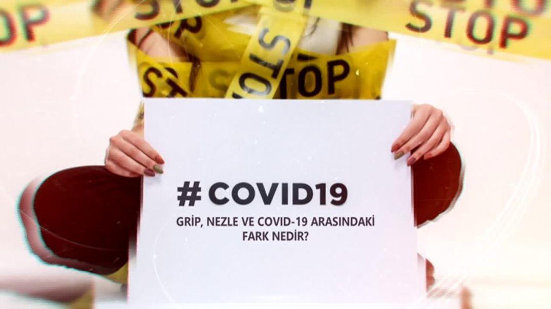 COVID-19 GRİP VE COVID-19 ARASINDAKİ FARK