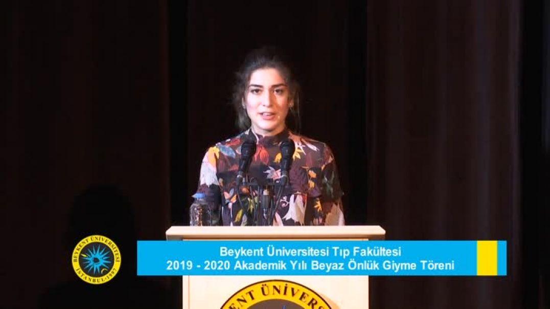 Beykent Üniversitesi Tıp Fakültesi 2019-2020 Beyaz Önlük Giyme Töreni