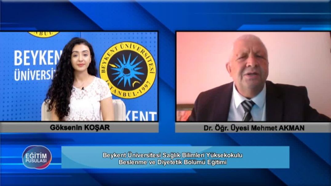 105.Bölüm Sağlık Bilimleri Yüksekokulu-Beslenme ve Diyetetik Mehmet Akman