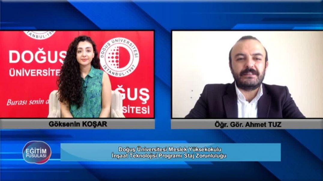 45.Bölüm Meslek Yüksekokulu İnşaat Teknolojisi Programı Ahmet Tuz