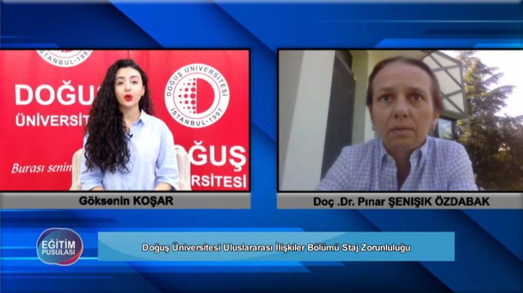 1.Bölüm Uluslararası İlişkiler Bölümü Pınar Şenışık Özdabak