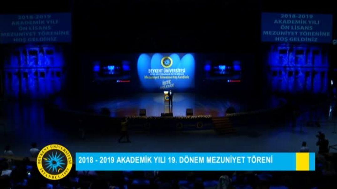 2019 Beykent Üniversitesi Mezuniyet Töreni 1.Gün