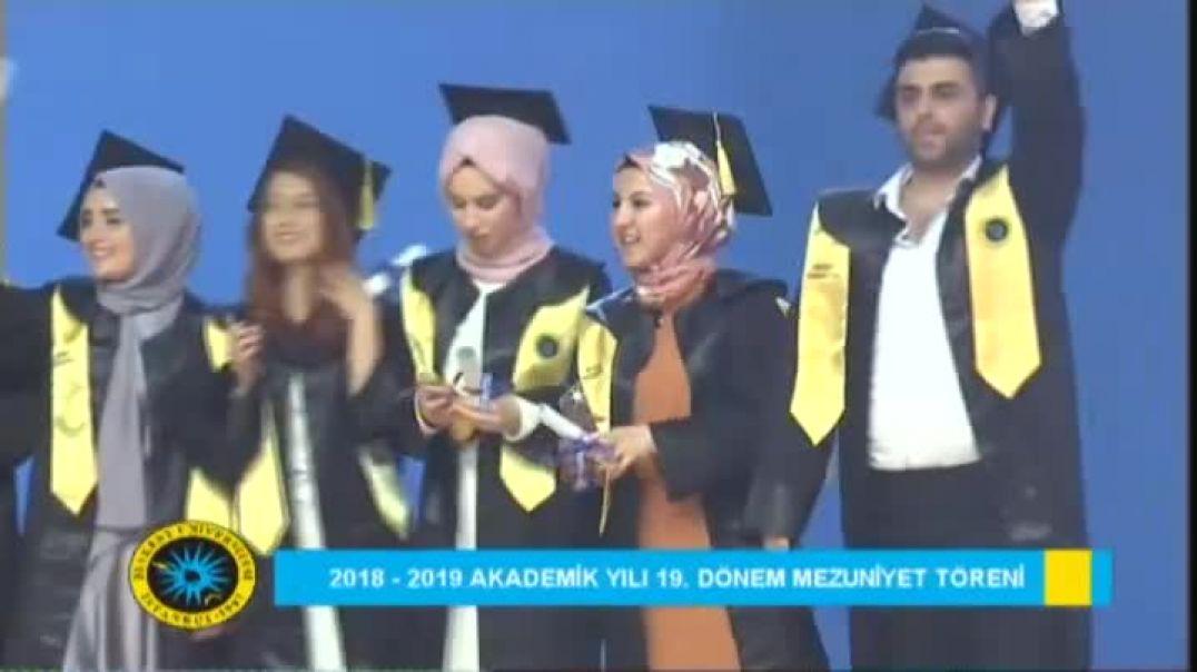 2019 Beykent Üniversitesi Mezuniyet Töreni 2.Gün Bölüm 2