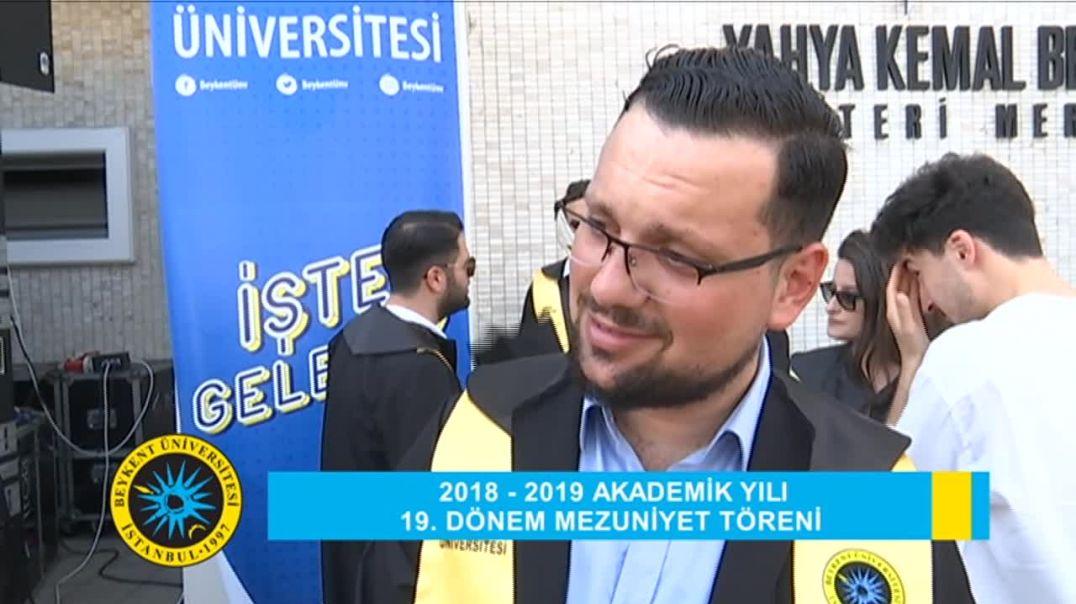 2019 Beykent Üniversitesi Mezuniyet Töreni Röportaj 2
