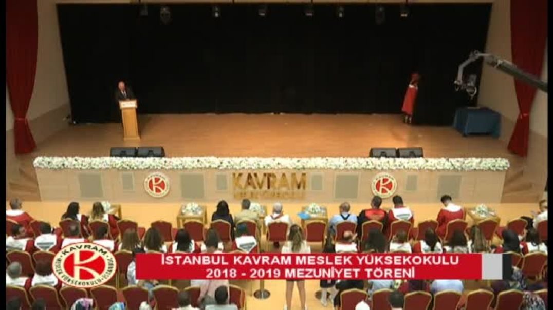 İzmir Kavram Meslek Yüksekokulu 2018-2019 Mezuniyet Töreni 1. Oturum