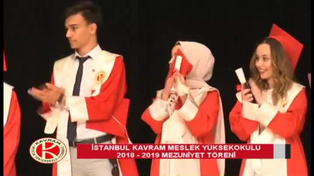 İzmir Kavram Meslek Yüksekokulu 2018-2019 Mezuniyet Töreni 2. Oturum